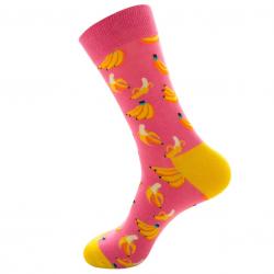 Linksmos kojinės Bananai