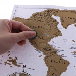 Baltas nutrinamas keliautojo žemėlapis