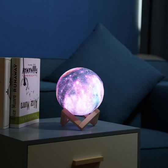 """Šviečianti lempa """"planeta"""""""