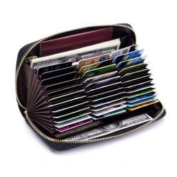36 kortelių piniginė su RFID Apsauga