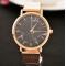 Aukso spalvos laikrodis moterims