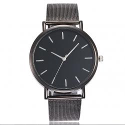 Juodos spalvos moteriškas laikrodis