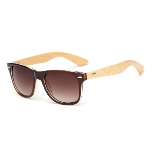 Rudi mediniai akiniai